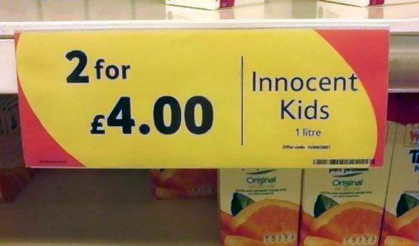 Innocent Kids On Deal