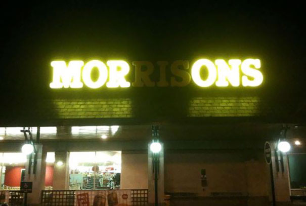 Hilarious Supermarket Fails Bored Panda - 30 hilarious neon sign fails ever