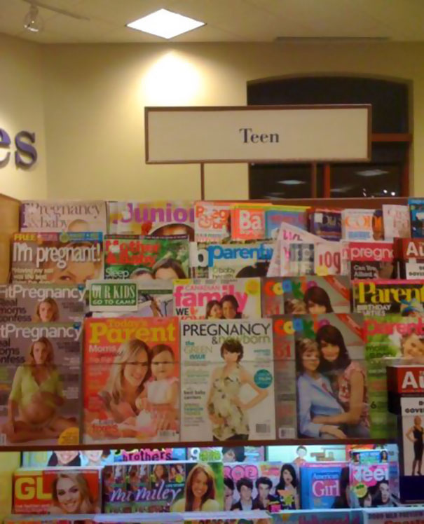 Teen Magazine Section