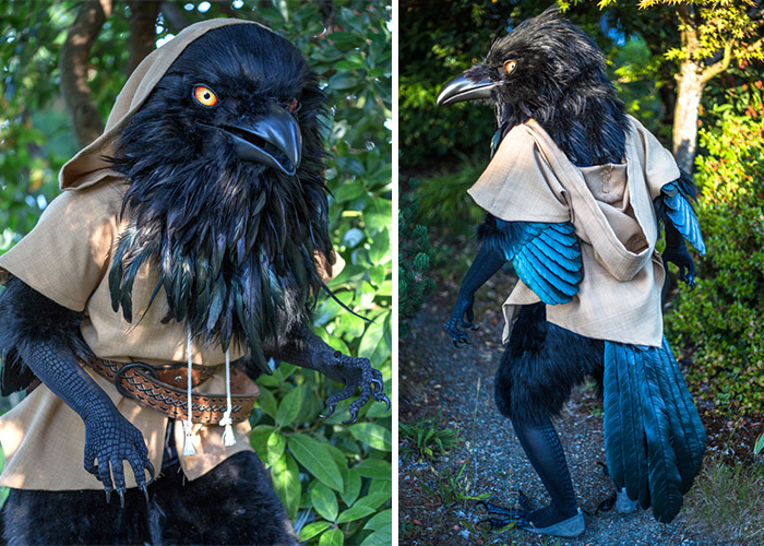 Giant Raven Costume By Rah-Bop