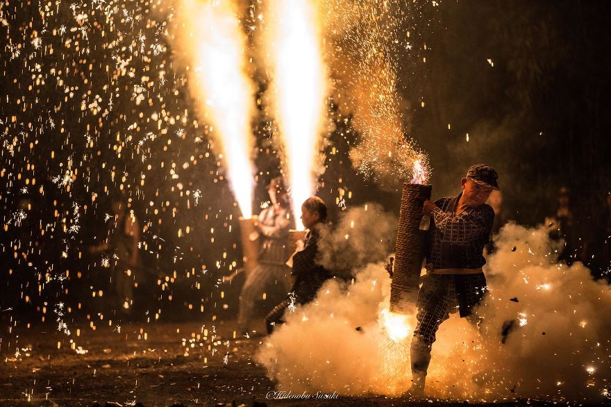 I Photographed The Traditional Firework Festival In Japan