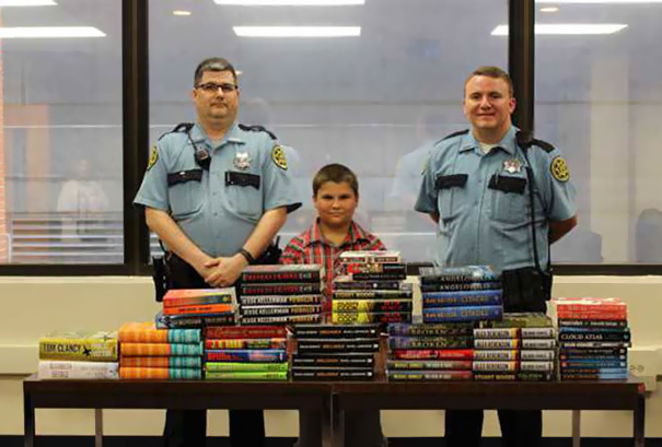 9-Year-Old Boy Saves His Summer Allowance Money To Buy And Donate Books To Local Jail