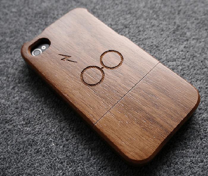 Walnut Wood Iphone Case