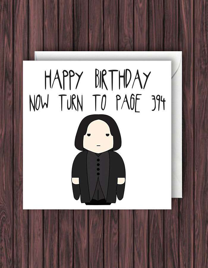 Gratifying image pertaining to free printable harry potter birthday cards