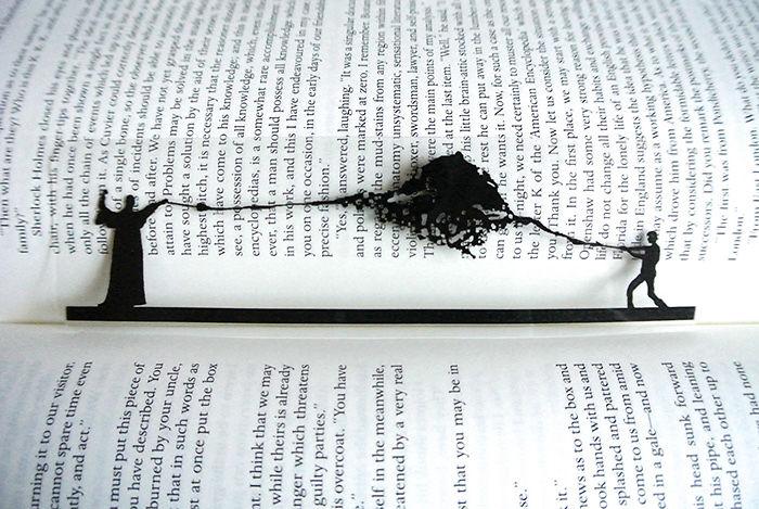 Harry And Voldemort Duel Scene Bookmark