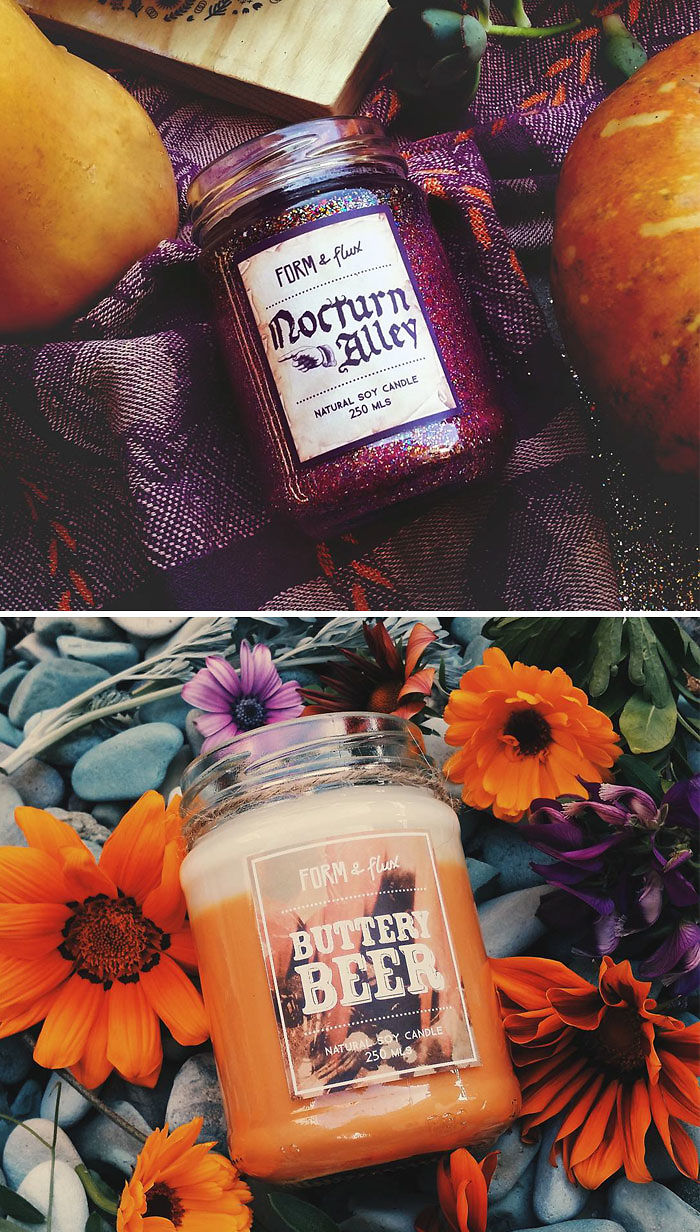 Harry Potter Inspired Candles