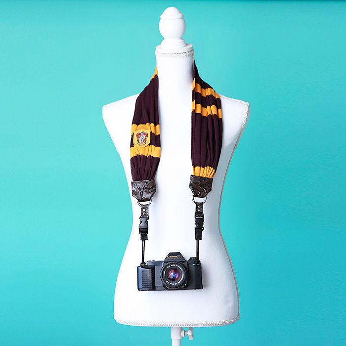 Gryffindor House Camera Strap
