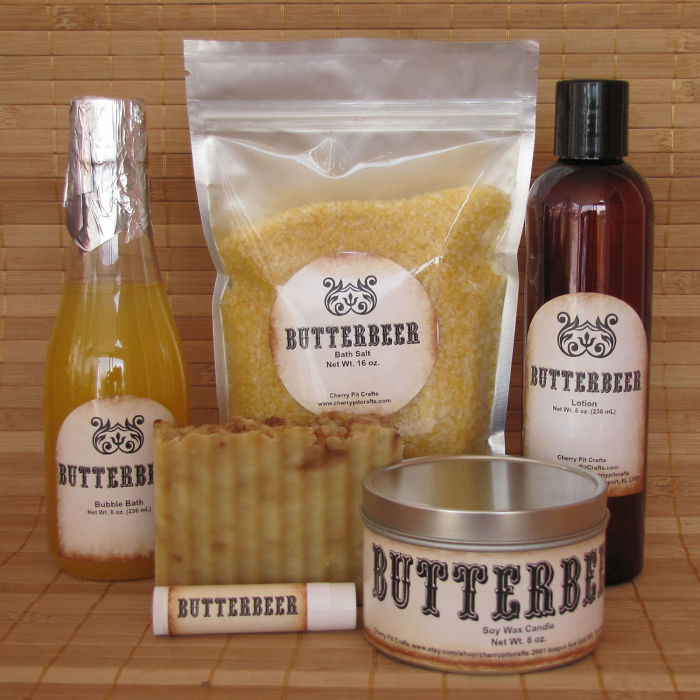 Butterbeer Harry Potter Themed Spa Gift Set