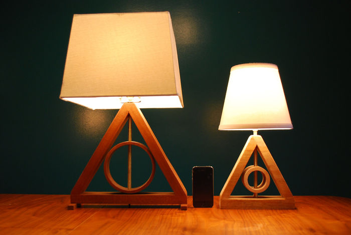 Harry Potter Deathly Hallows Table Lamps