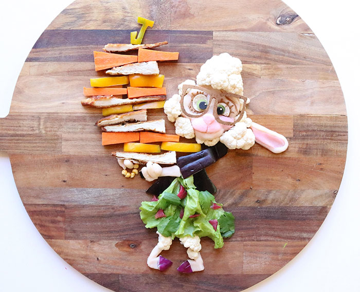 To Make My Son Eat Healthy Food, I Turn It Into His Favorite Cartoons