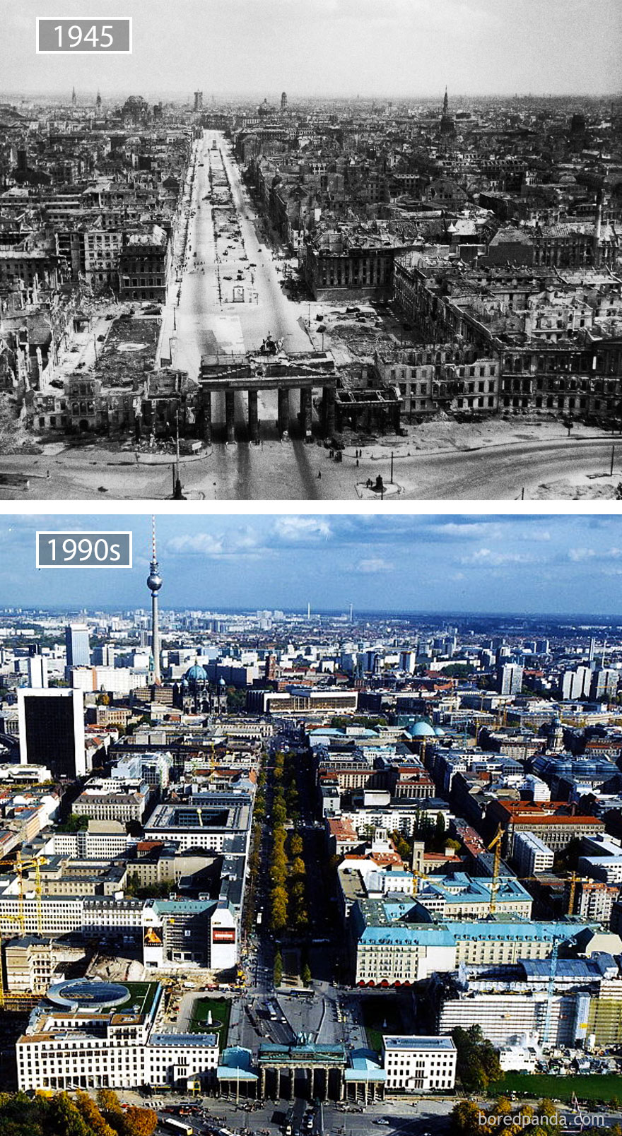 Berlin, Germany - 1945 And 1990s