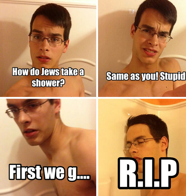stereotypical memes reveal how different people take showers veriy