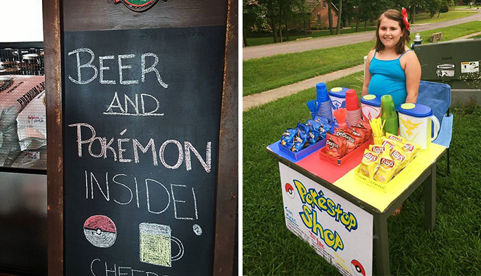 How People Take Advantage Of The Pokemon Go Craze (30 Pics)