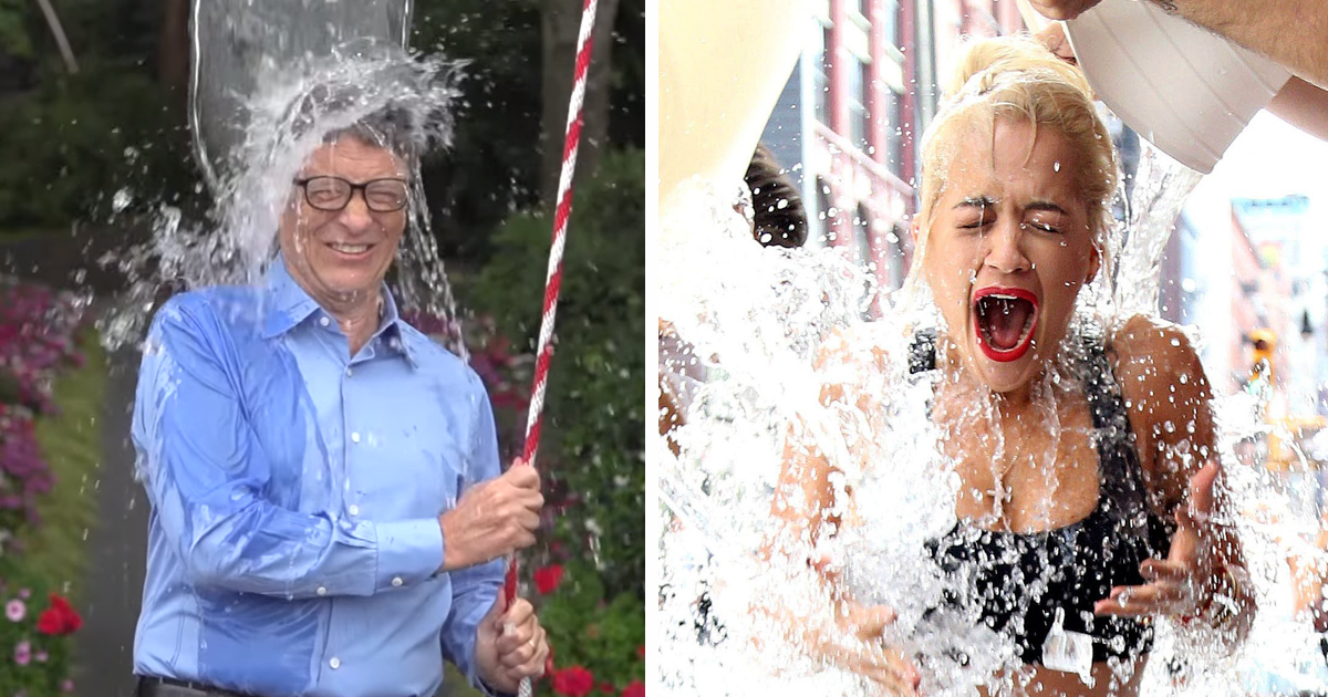 remember the ice bucket challenge it just funded a major