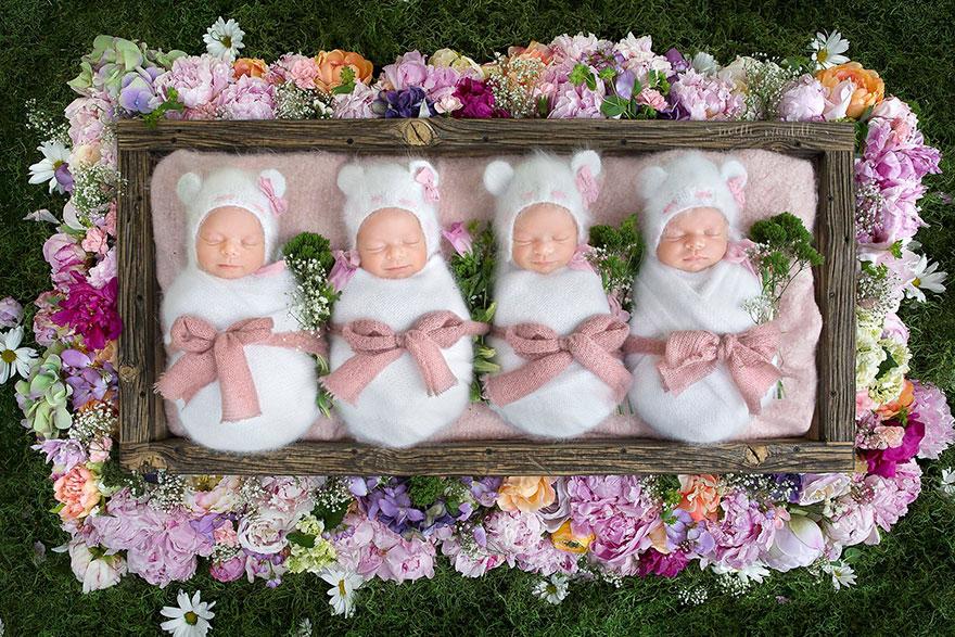 identical-quadruplet-newborn-photography-baby-photoshoot-noelle-mirabella-3