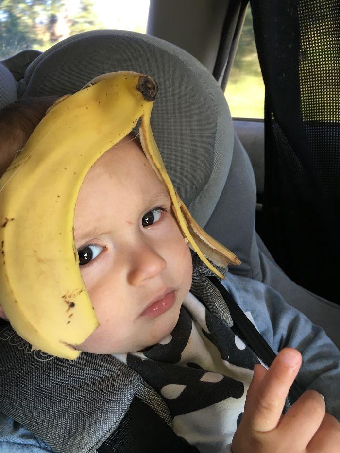 Banana Head Isn't Impressed