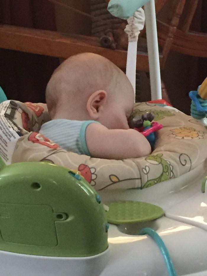 Sometimes A Bouncer, Sometimes A Sleeper!