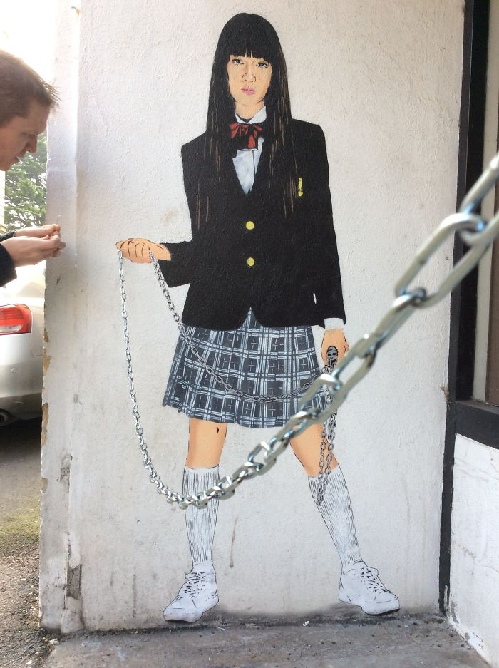 10 Examples Of Clever Street Art By Uk Artist Jps