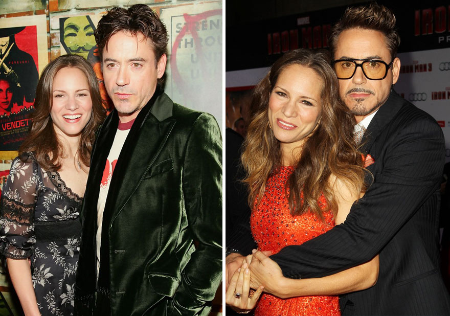 Robert Downey Jr. And Susan Levin - 13 Years Together