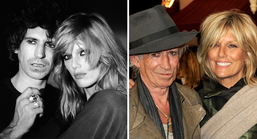 Keith Richards And Patti Hansen - 37 Years Together