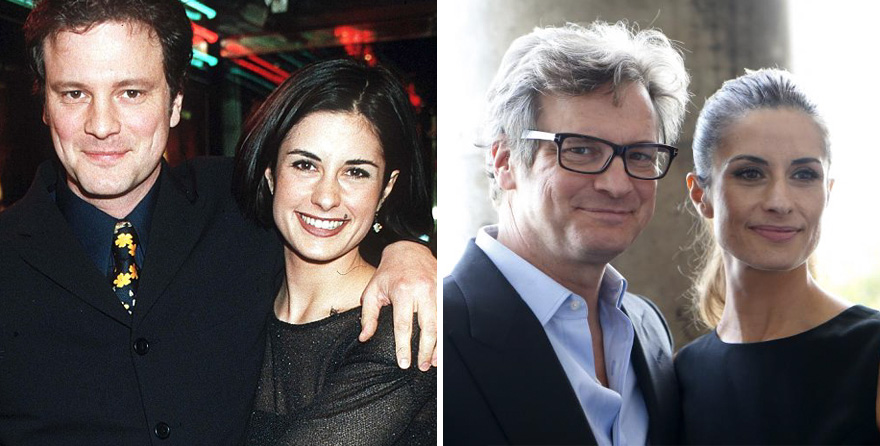 Colin Firth And Livia Giuggioli - 19 Years Together