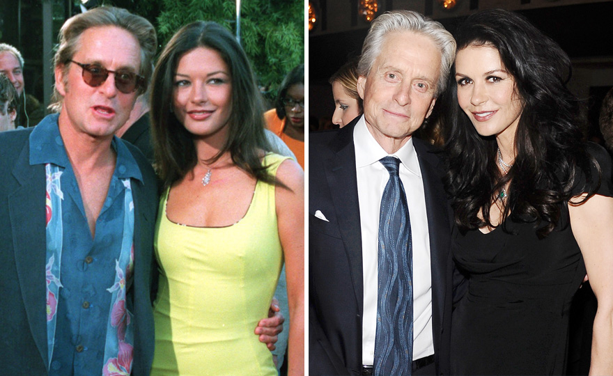 Catherine Zeta-jones And Michael Douglas - 18 Years Together