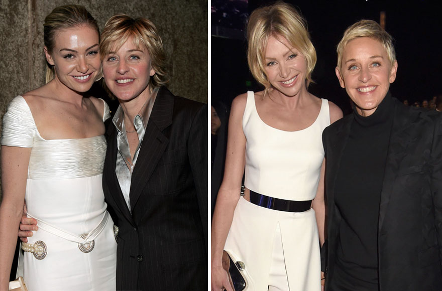 Ellen Degeneres And Portia De Rossi - 12 Years Together