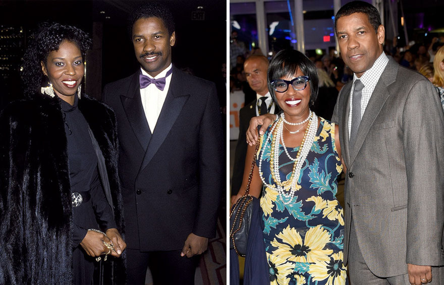 Denzel And Pauletta Washington - 39 Years Together