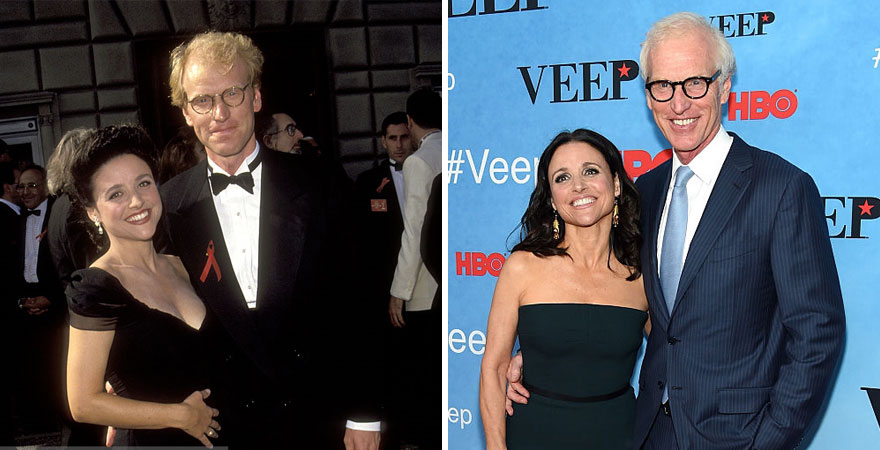 Julia Louis-dreyfus And Brad Hall - 29 Years Together