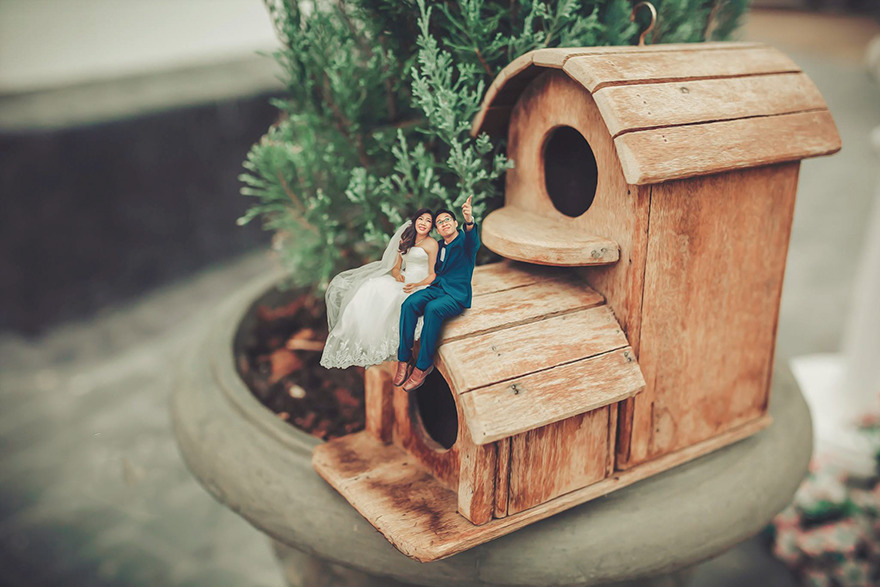Miniature Wedding Photography