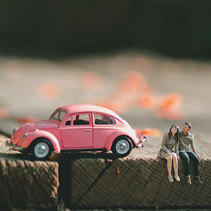 Wedding Photographer Turns Couples Into Miniature People