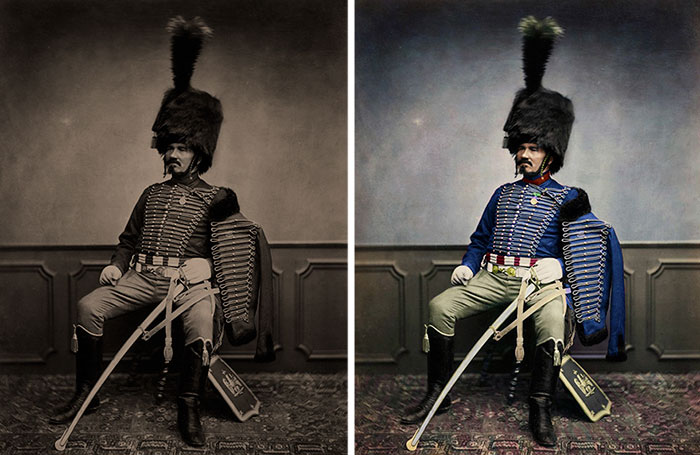 Napoleon's Veterans Have Been Brought To Life In Vivid Color
