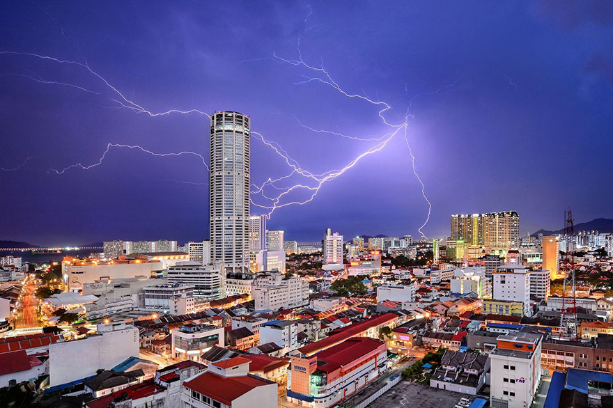 Third Place Winner, Cities: Celestial Reverie, Pulau Pinang, Malaysia