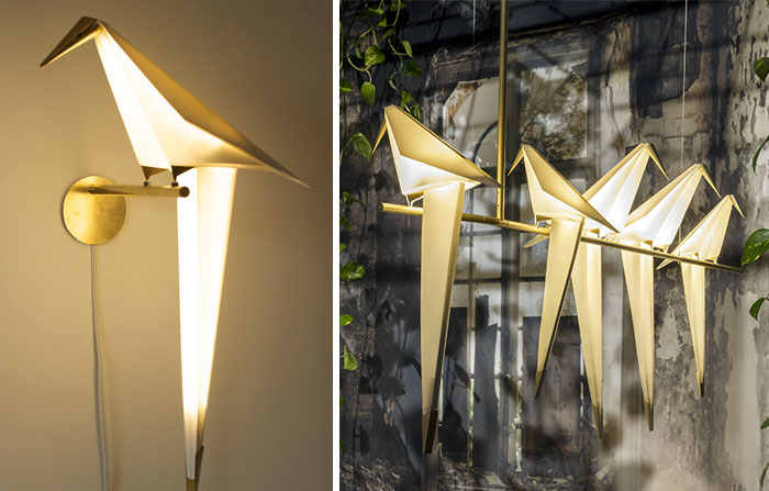 Origami Lights by Umut Yamac