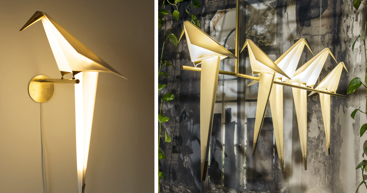Origami Lights By Umut Yamac Bored Panda