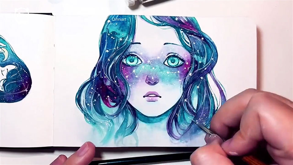 Nature Face Painting Ideas