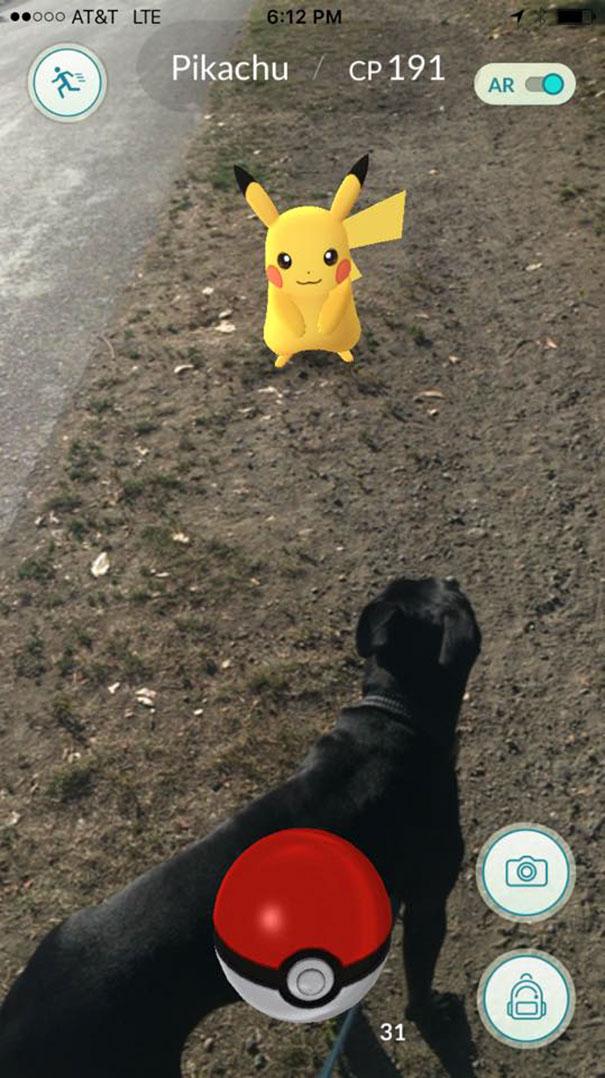 Wow, Even Pikachu
