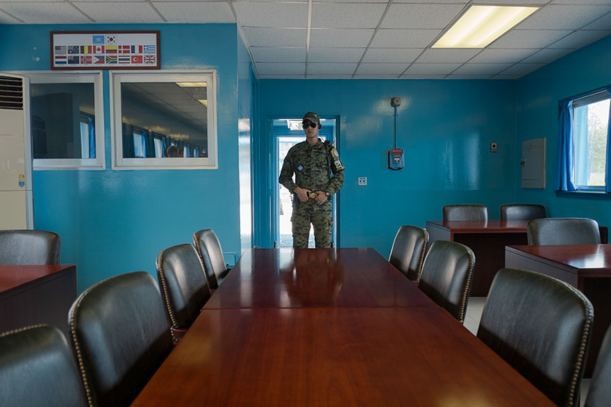 North Korean Jsa, Dmz, Panmunjeon, Korea