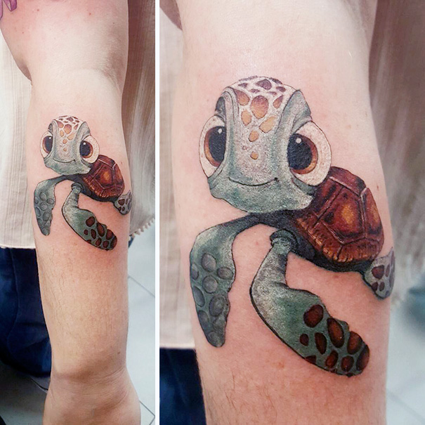 These Pixar Inspired Tattoos Are Very Charming