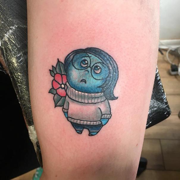 1e3b54400 54 Pixar-Inspired Tattoo Ideas | Bored Panda
