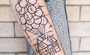 13+ Pixar-Inspired Tattoo Ideas