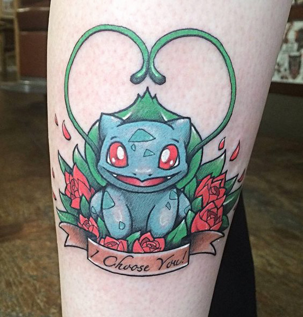 Pokemon Tattoo