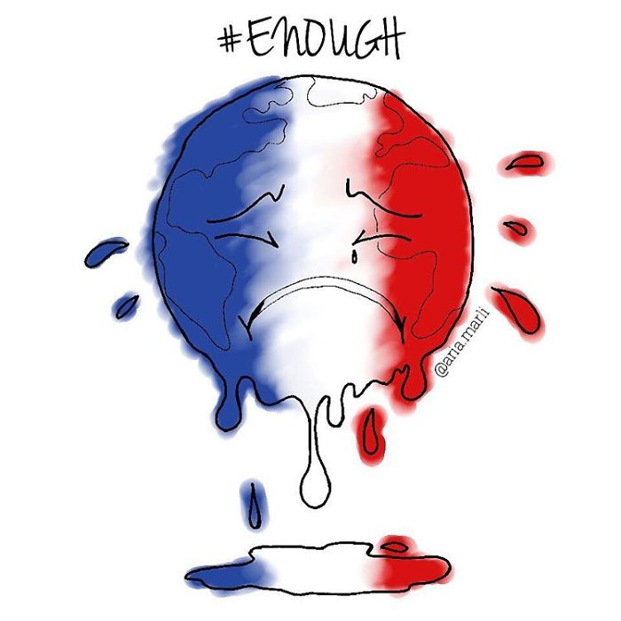 My Heart Weeps After The News. When Will The Violence End?