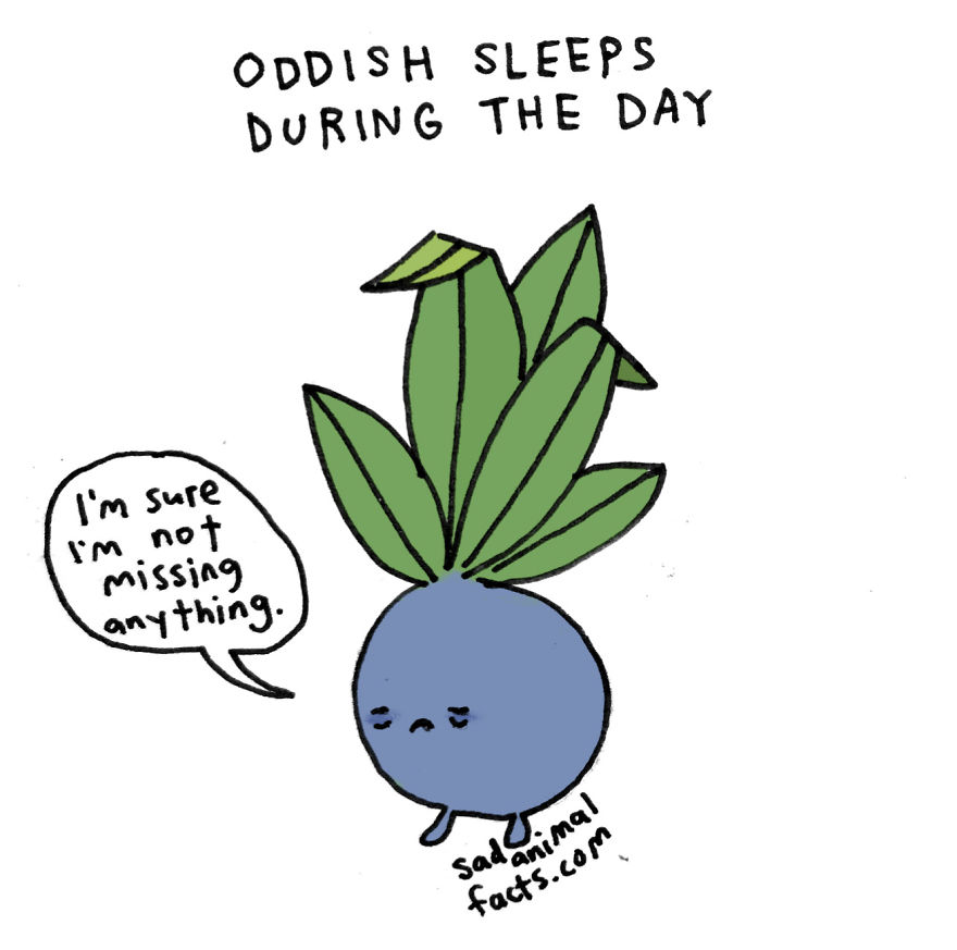 That Adorable Oddish You Just Found Is Taking The Day Off