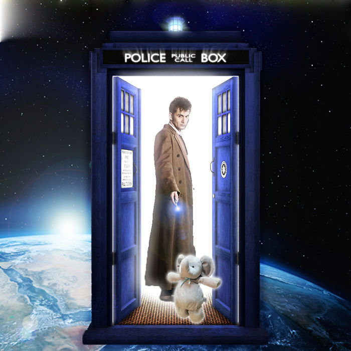 Traveling Through Time And Space With The Doctor.