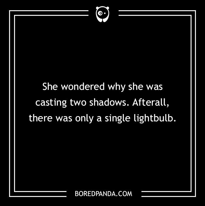 Two Sentence Horror Story