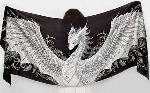 My Silk Dragon Scarves Will Give You Wings