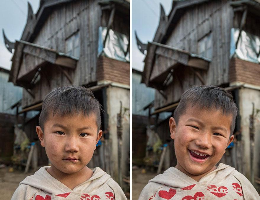 Khonoma, Nagaland, en el noreste de la India