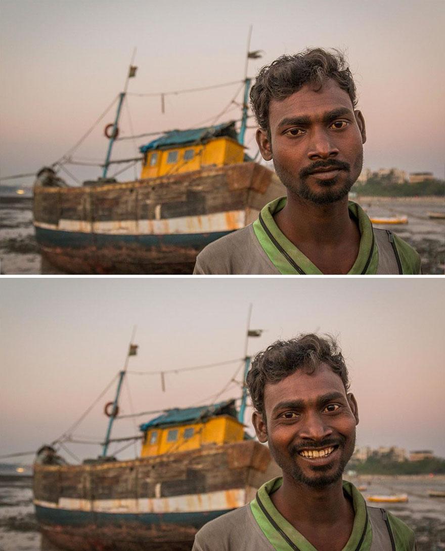 Danda pueblo embarcadero, Mumbai, India