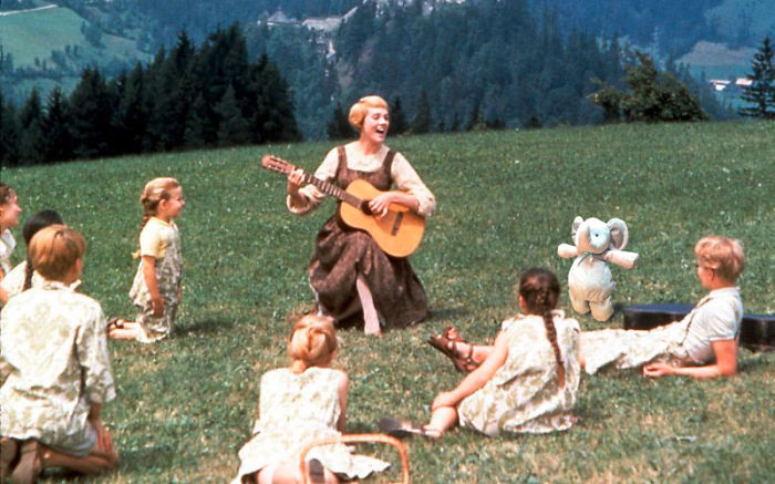 Singing Along To The Sound Of Music In Austria